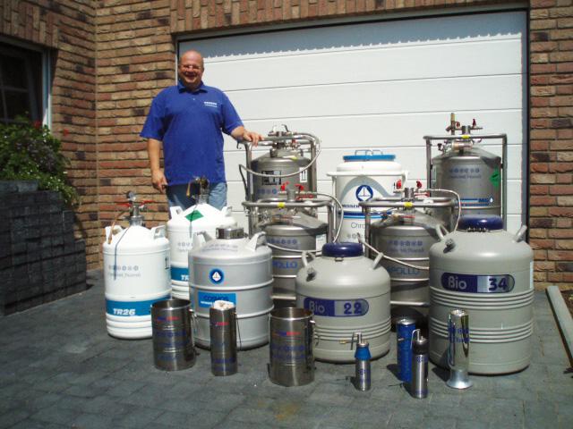 Stickstoff-Flüssigbehälter